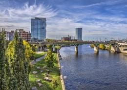 美国费城城市风景图片(9张)