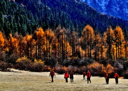 风景美如画的四川川西自然风光图片(9张)