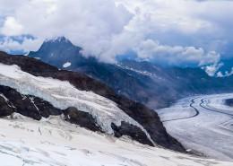 瑞士少女峰自然风景图片