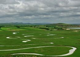 河北沽源坝上草原闪电河自然风景图片(12张)