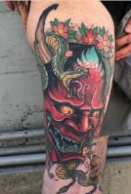 10张炫彩色的般若纹身作品欣赏