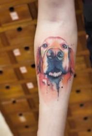 18组可爱的小猫小狗的宠物纹身图
