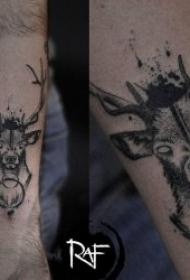 纹身点刺技巧   时尚而又个性的点刺纹身图案