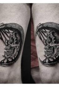 个性点刺纹身   点刺与技巧性结合的个性纹身图图案