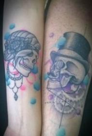 纹身情侣图案 10组非常有创意的情侣纹身图案
