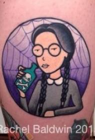 纹身卡通人物  别具风格的可爱卡通人物纹身图案