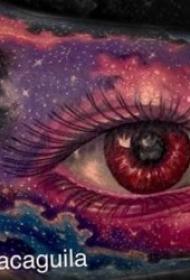 纹身眼睛   8款温柔而又幽深的眼睛纹身图案
