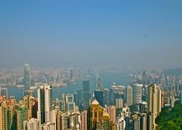 香港维多利亚港风景图片(12张)