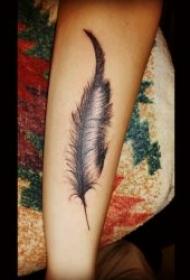 小手臂纹身图案 一组风格迥异的小手臂纹身图案
