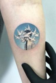 画纹身图案 精致而又小
