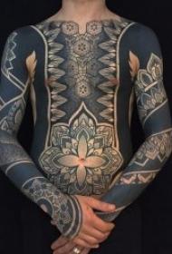 图腾纹身图案 个性化十