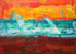 抽象的水彩画图片(11张)