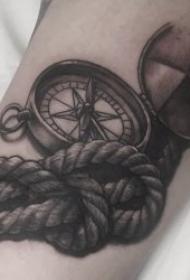 纹身指南针 多款技巧性