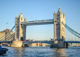 伦敦塔桥风景图片(12张)