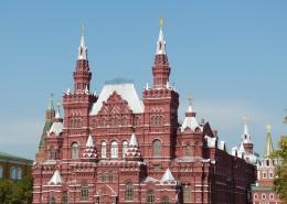 俄罗斯莫斯科红场建筑风景图片(12张)