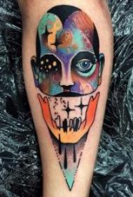 彩色创意纹身图案  9款令人惊叹的彩色创意纹身图案