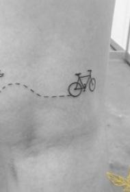 简约线条纹身图 十分精致的简约线条纹身图案