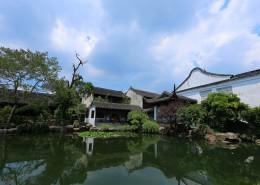 苏州园林网师园人文风景图片(9张)