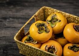 秋季脆柿子图片(10张)