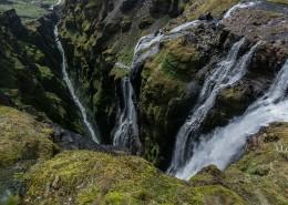 峡谷瀑布图片(12张)