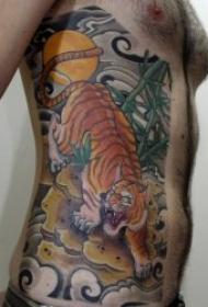 老虎纹身图案 10张霸气十足的老虎纹身图案