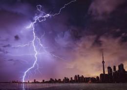电光石火的闪电图片(10张)