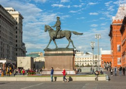 俄罗斯莫斯科红场建筑风