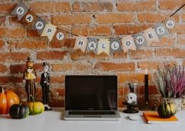 万圣节风格的的办公室图片(12张)