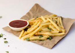 金黄酥脆的炸薯条图片(10张)