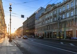 俄罗斯圣彼得堡城市风景