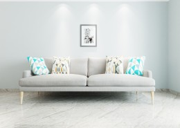 现代简洁风家居客厅图片