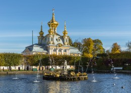 俄罗斯圣彼得堡建筑风景图片(12张)