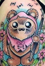 纹身可爱的图案  多款色调明亮的可爱纹身图案