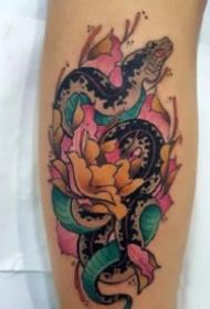 纹身牡丹花 9组传统的牡丹主题纹身图案