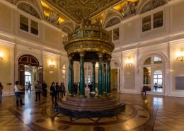 俄罗斯冬宫博物馆建筑风