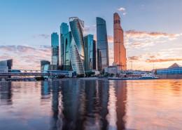 俄罗斯莫斯科城市风景图