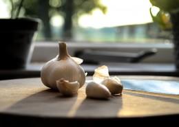 扁球形的大蒜图片(13张)