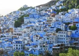 摩洛哥蓝色之城舍夫沙万