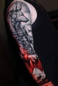 写实手臂纹身 18款欧美写实的手臂纹身作品图片