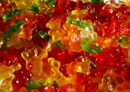 五颜六色的水果软糖图片(9张)