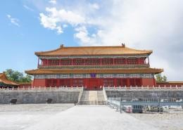 北京故宫博物院建筑风景图片(10张)