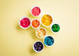颜色鲜艳的软糖图片(15张)