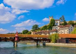 瑞士卢塞恩城市风景图片(9张)
