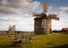 荷兰风车的特写图片(12张)