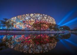 国家鸟巢体育场建筑风景图片(11张)