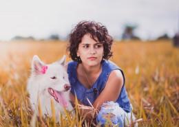 小狗和狗主人的图片(12张)