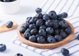 新鲜有营养的蓝莓图片(8张)