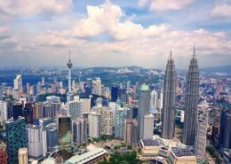 马来西亚吉隆坡双子塔的图片(9张)
