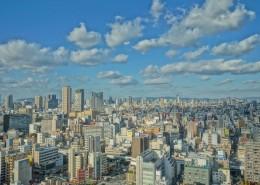 日本大阪城市风景图片(9张)