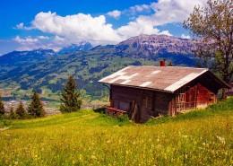 人间天堂瑞士自然风景图片(8张)